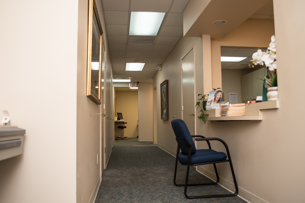Dental Hallway and Reception