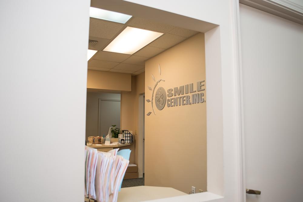 Smile Center Sign